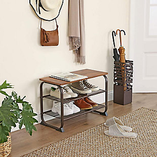 3-Tier Shoe Storage Shelf, , rollover