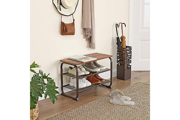 3-Tier Shoe Storage Shelf, , large
