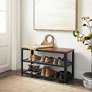 Bryce 3-Tier Shoe Rack, , rollover