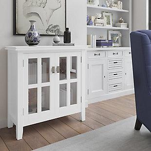 Artisan Low Storage White Cabinet, , rollover