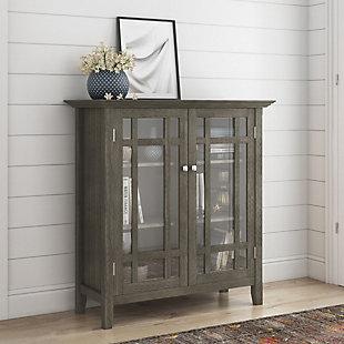 Bedford Rustic Gray Storage Cabinet, , rollover