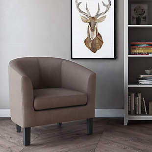 Austin Light Mocha Tub Chair, , rollover