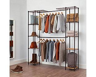 TRINITY Expandable Closet Organizer, , rollover