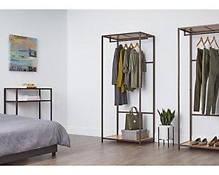TRINITY 30x20x72 Bamboo Garment Rack, , rollover