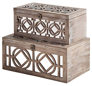 Home Accents Box (Set of 2), , large