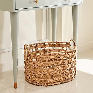 Camila 20-Inch Oval Basket (Size Large), , large