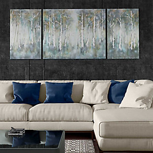 """Betual Hand Painted 100""""x40"""" Canvas (Set of 3), , rollover"""
