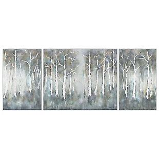"""Betual Hand Painted 100""""x40"""" Canvas (Set of 3), , large"""