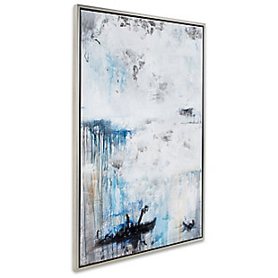 """Passing Storm Hand Painted 38""""x58"""" Canvas, , large"""