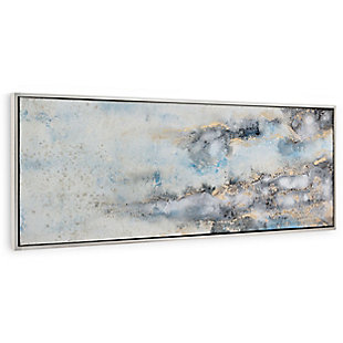 "Subtle Transition Hand Painted 25""x72"" Canvas, , large"