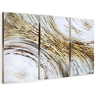 """Indroduction Hand Painted 60""""x40"""" Canvas (Set of 3), , large"""