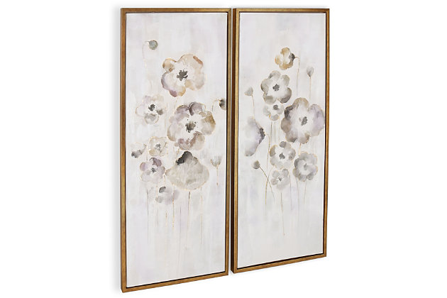 """Cold Frame Hand Painted 22""""x52"""" Canvas (Set of 2), , large"""