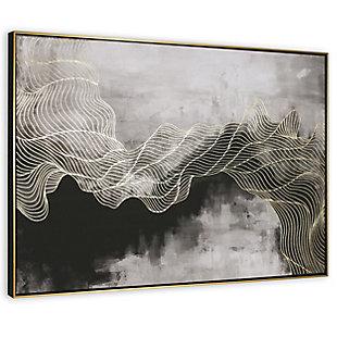 "Golden Path Framed 49""x33"" Canvas, , large"