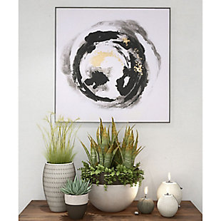 """Spherical Hand Painted 41""""x41"""" Canvas, , rollover"""