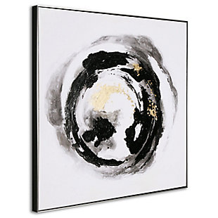 """Spherical Hand Painted 41""""x41"""" Canvas, , large"""
