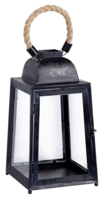 Home Accents Lantern by Ashley HomeStore, Black