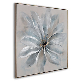 """Radiant Blossom Hand Painted 40""""x40"""" Canvas, , large"""