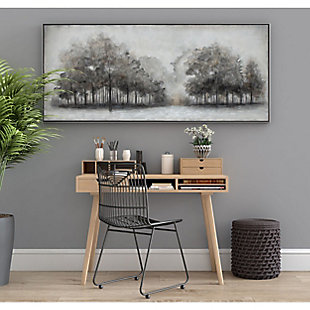"""Wildwood Fog Hand Painted 71""""x31"""" Canvas, , rollover"""