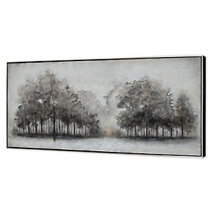 "Wildwood Fog Hand Painted 71""x31"" Canvas, , large"