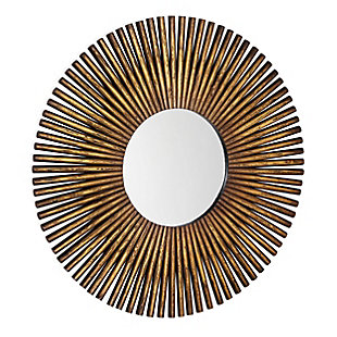 "Carter Wood 40""x40"" Wall Mirror, , large"
