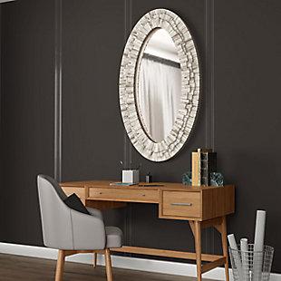 "Stella Wood 30""x50"" Wall Mirror, , rollover"