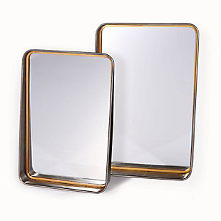 Orion Set of 2 Metal Wall Mirror, , rollover