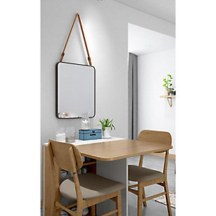"Ian Metal 19""x23"" Wall Mirror, , rollover"