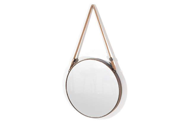"Alias Metal 18""x18"" Wall Mirror, , large"