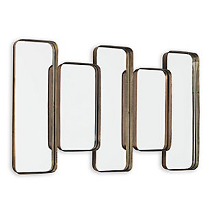 "Orson Metal 39""x23"" Wall Mirror, , large"
