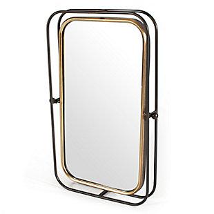 "Bevin Metal 18""x27"" Wall Mirror, , large"
