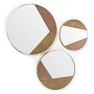 Alexander Metal Mirrors (Set of 3), , large