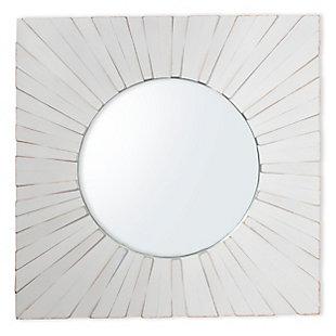 "Tallulah Wood 30""x30"" Mirror, , rollover"