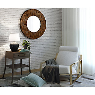 """Alise Wood 36""""x36"""" Mirror, , rollover"""