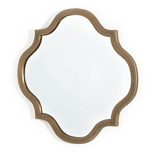 "Eliza Metal 14""x14"" Mirror, , large"