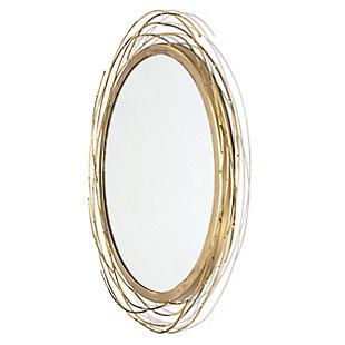 """Dianne Metal 18""""x18"""" Mirror, , rollover"""