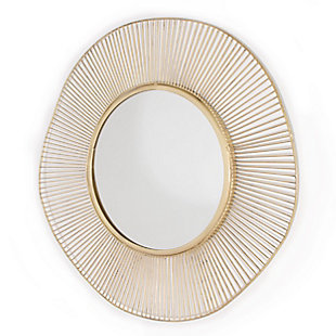"Brielle Metal 28""x28"" Mirror, , large"