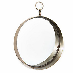 "Macklin Metal Round 18""x24"" Wall Mirror, , large"