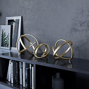 Zelda Decorative Metal Accessory (Set of 3), , rollover