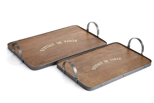 Home Accents Tray (Set of 2), , large