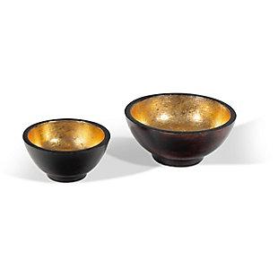 Emilio Decorative Bowls (Set of 2), , large
