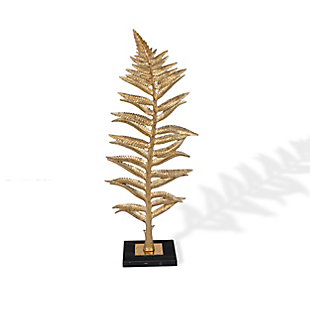 Gilded Fern I Decorative Feather, , rollover