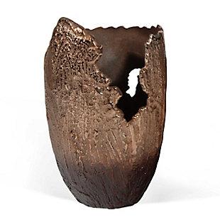 Terra Large Copper Vase, , large