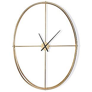 Nouvel Metal Wall Clock, , rollover