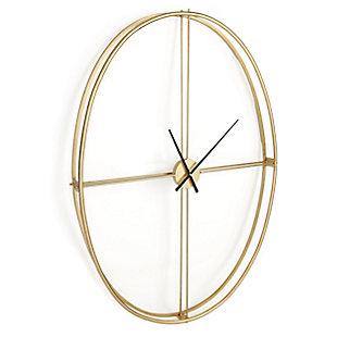 Nouvel Metal Wall Clock, , large