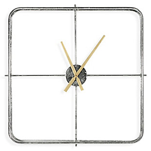 Lincoln Metal Wall Clock, , rollover