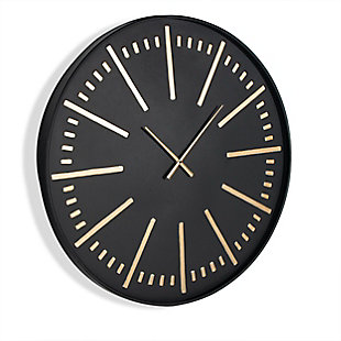 Corwin Metal Wall Clock, , large
