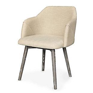 Dalton Dining Chair (Min/2), Brown/Beige, large