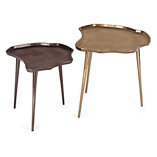 Evianna Bronze Side Table, , rollover