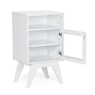 Simpli Home Draper Floor Storage Bath Cabinet, , large