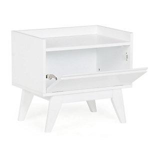 Simpli Home Draper Storage Hamper Bench, , large